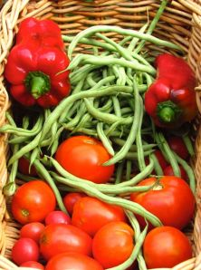 August 6 harvest basket
