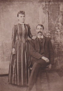 My great-grandparents: Etta and Adolphus.