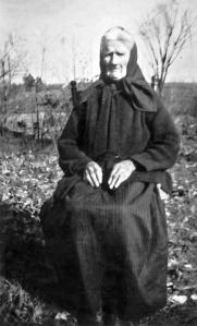 My 3rd great-grandmother, Sarah Ann