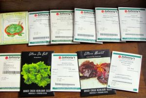Some of this year's seed order.