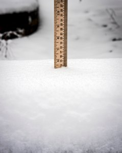 5.25 inches on Feb. 26